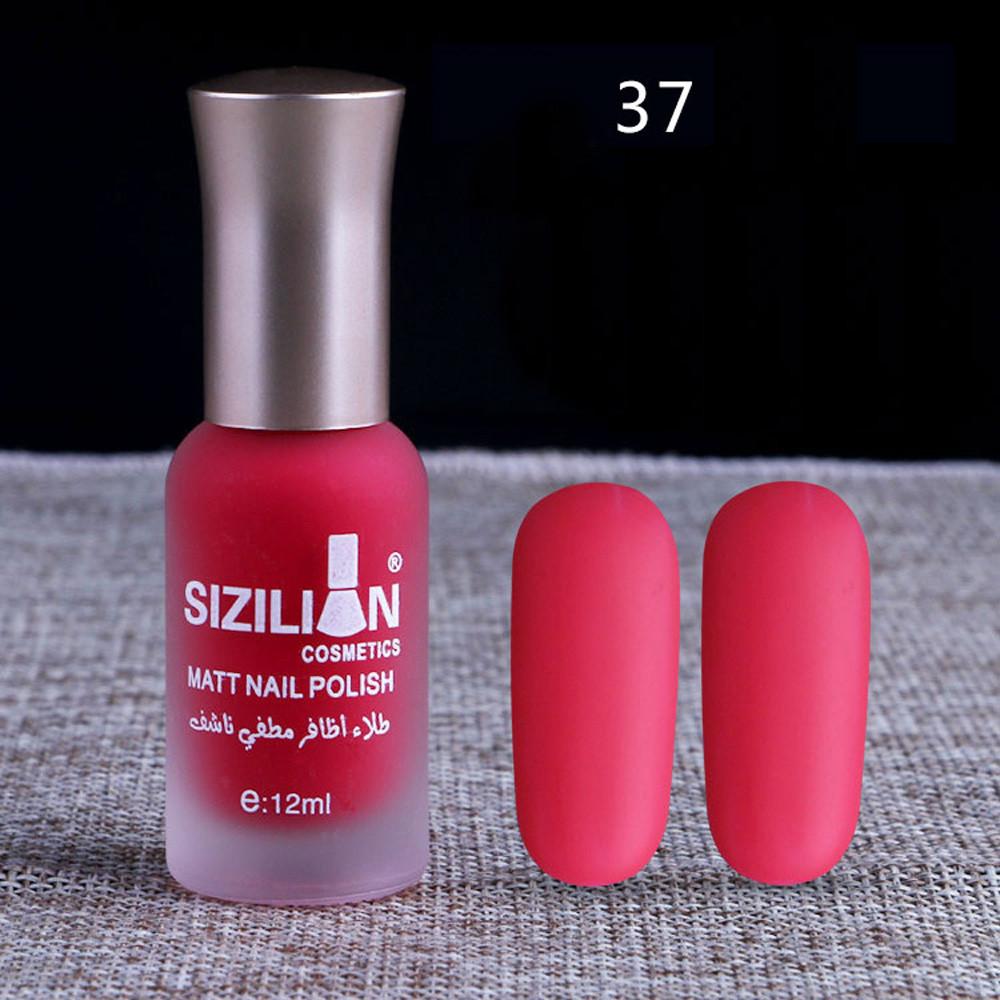 Matte Dull Nail Polish Fast Dry Long Lasting Nail Art Matte Nail ...
